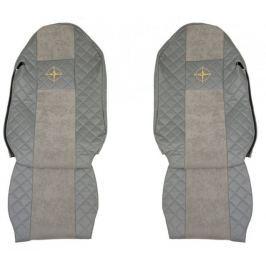 F-CORE Potahy na sedadla FX12, šedé