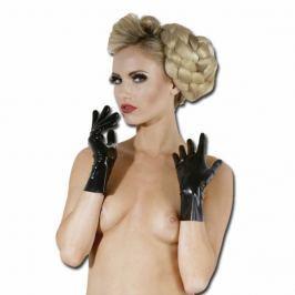 Krátké latexové rukavice (S)