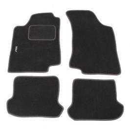 MAMMOOTH Koberce textilní, VW Golf III 1991-1997, grafitově černé, sada 4 ks