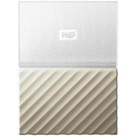 WD My Passport Ultra Metal 1TB, bílá/zlatá (WDBTLG0010BGD-WESN)