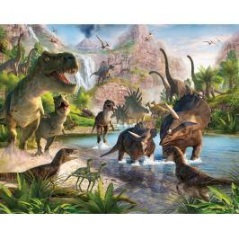Walltastic Fototapeta Země dinosaurů