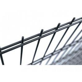 Svařovaný panel SUPER RAL 7016 Zn+PVC 2500×1230 mm - výška 123 cm
