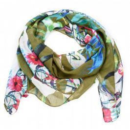 Desigual dámský khaki šátek Gardenette