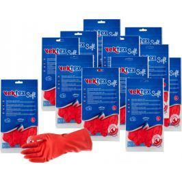 Vektex Soft rukavice, velikost L, 12 párů