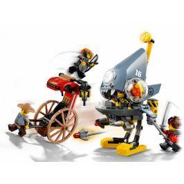 LEGO NINJAGO™ 70629 Útok piraně