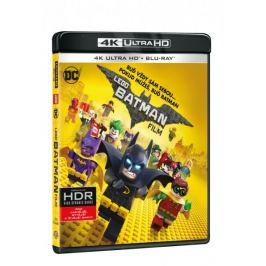 Lego Batman Film (2 disky) - Blu-ray + 4K ULTRA HD