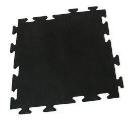 FLOMAT Gumová protiúnavová modulární rohož Flat Tile - 50 x 50 x 0,8 cm
