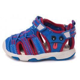 Geox chlapecké sandály Multy 20 modrá