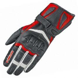 Held dámské rukavice MYRA vel.6,5 černá/červená, kozí/klokaní kůže