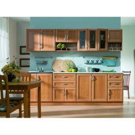 Kuchyňská linka Wanilia 260 cm - deska vcelku