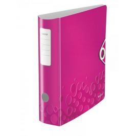 Mobilní pořadač Leitz 180° ACTIVE WOW A4 8,2 cm metalicky růžový