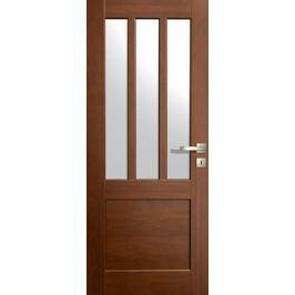 VASCO DOORS Interiérové dveře LISBONA kombinované, model 5, Ořech, C