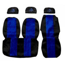 F-CORE Potahy na sedadla PS03, modré