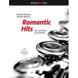KN Romantické hity pro dvě flétny Škola hry na příčnou flétnu