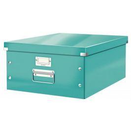 Krabice CLICK & STORE velká archivační, led. modrá