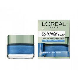 L'Oréal Maska proti černým tečkám Pure Clay (Anti-Blemish Mask) 50 ml