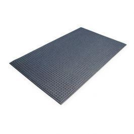 Modrá plastová čistící vnitřní vstupní rohož - 90 x 60 x 1 cm