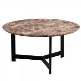 Artenat Konferenční stolek Volker, 70 cm, tmavý mramor
