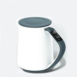 VSON CloudCUP Smart - chytrý hrnek s OLED displejem, 350 ml, šedý