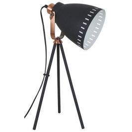 Solight stojací lampa Torino, trojnožka, 52 cm, E27 černá