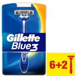 Gillette Blue3 Pánský jednorázový holicí strojek 8ks