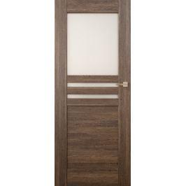 VASCO DOORS Interiérové dveře MADERA kombinované, model 5, Dub rustikál, D