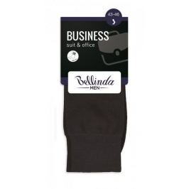 Bellinda BUSINESS SOCKS hnědá 43 - 46