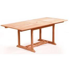 RIWALL Solid Jati - obdélníkový rozkládací stůl