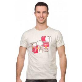 Pepe Jeans pánské tričko Cans L šedá