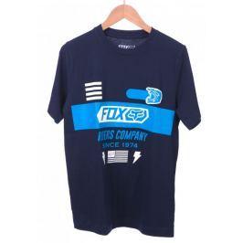 FOX chlapecké tričko Osage Ss Tee 116 tmavě modrá Produkty
