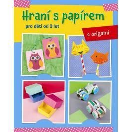 Hraní s papírem pro děti od 3 let