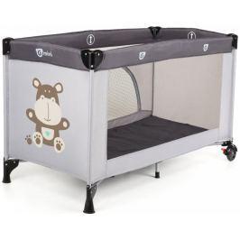 G-mini Cestovní postýlka Sleepy Hippo, šedá - rozbaleno