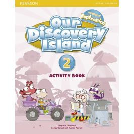 Saslow Joan M., Ascher Allen: Our Discovery Island  2 Activity Book and CD ROM (Pupil) Pack