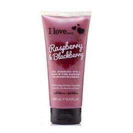 I Love Cosmetics Přírodní sprchový peeling s vůní malin a ostružin (Raspberry & Blackberry Exfoliating Shower Smoothi