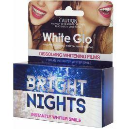 White Glo Bright Nights rozpouštěcí zubní pásky