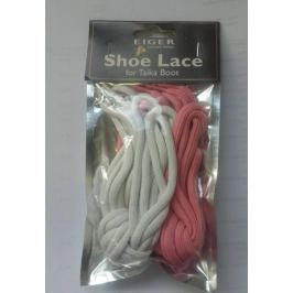Eiger Tkaničky Shoe Lace F Taika Boot White Pink