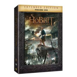 Hobit: Bitva pěti armád - prodloužená verze (5DVD)   - DVD