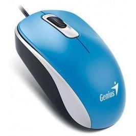 Genius DX-110, drátová, 1000 dpi, USB, modrá (31010116110)