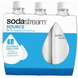 Sodastream Láhev 1 l SOURCE/PLAY 3Pack bílá