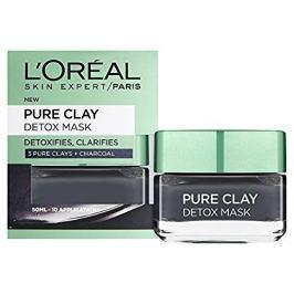 L'Oréal Intenzivní čisticí rozjasňující maska Pure Clay (Detox Mask) (Objem 6 ml)