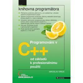 Virius Miroslav: Programování v C++ od základů k profesionálnímu použití