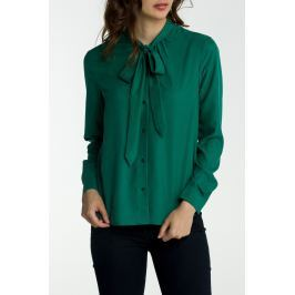 Košile GANT O2. PEACHED BOW BLOUSE