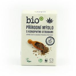 Bio-D Mýdlo s konopnými otrubami (95 g) - AKCE