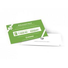 Dárkový poukaz do obchodu Econea - 1.000 Kč