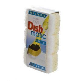 EcoForce Dishmatic – náhradní jemné houbičky (3 ks)
