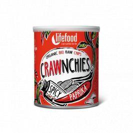 Lifefood Crawnchies pikantní s paprikou RAW & BIO (30 g)