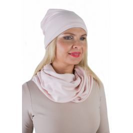 Meera Design Šmrncovní čepice Lilith - pudrová