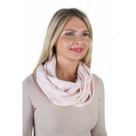 Meera Design Elegantní nákrčník Minerva - pudrový