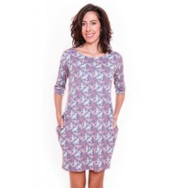 Meera Design Božské šaty Afrodité - s holubicemi (L/XL)