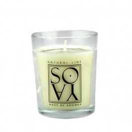 Aromka Svíčka ze sojového vosku ve skle (66 g) - bez vůně